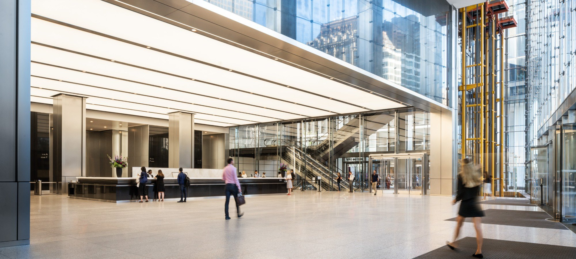 The Lobby at 3WTC