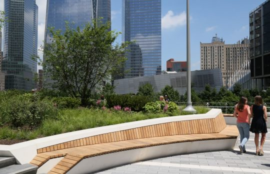 Touches of Whimsy at World Trade Center's Liberty Park