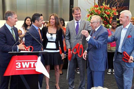 3 WTC Ribbon Cutting 2 – June 11, 2018
