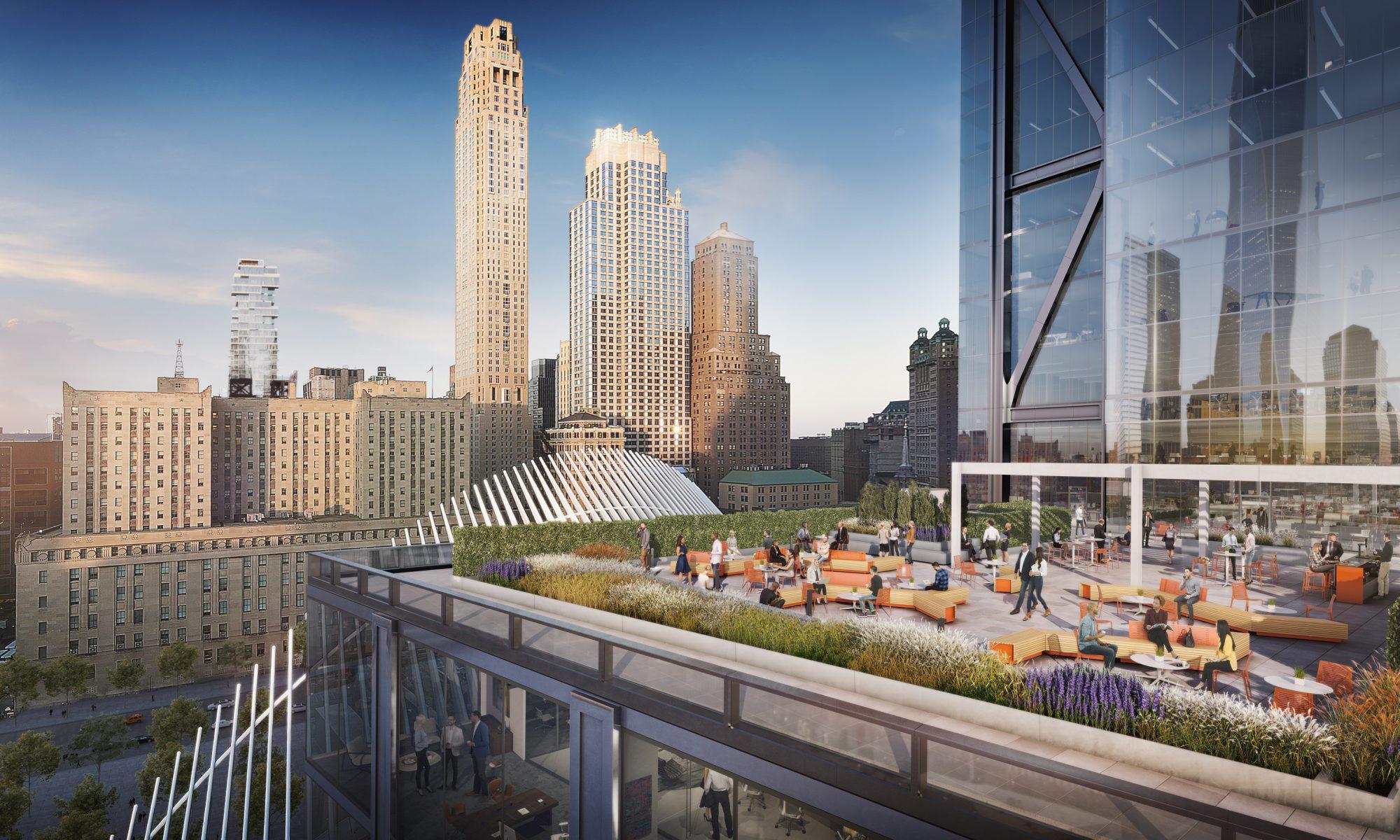 3 WTC 17th Floor Amenity Terrace 2 - 3