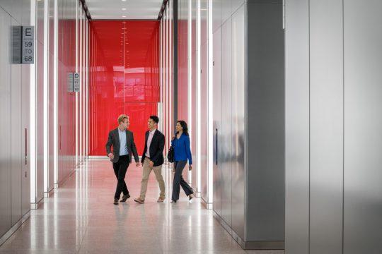3 WTC Elevator Lobby