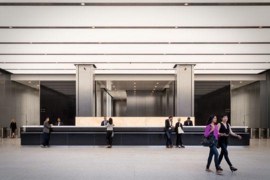 3 WTC Lobby Desk