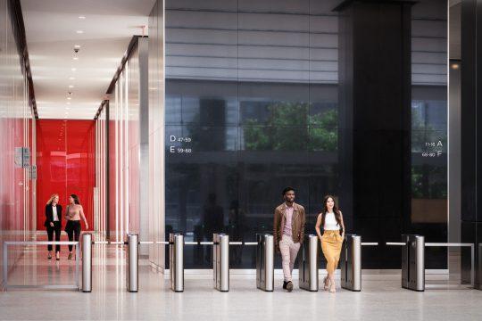 3 WTC Turnstiles and Elevator Lobby