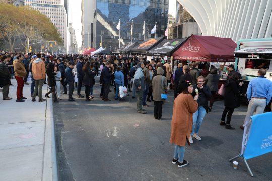 Three-Day Smorgasburg Food Festival Heads to WTC Oculus Plaza