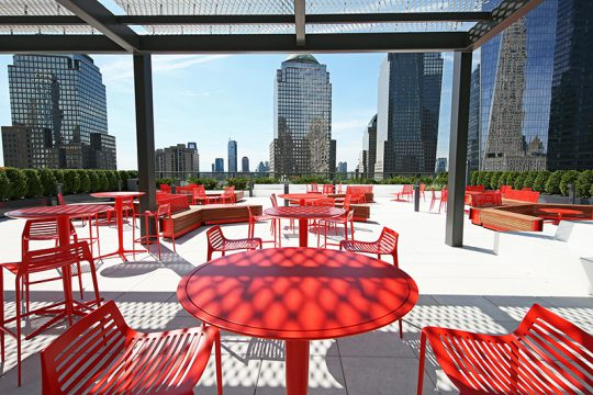 Silverstein Unveils the City's Largest Office Terrace at 3WTC